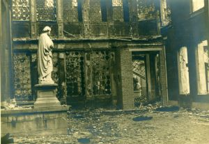 Namur Church after bombing 1944 edited